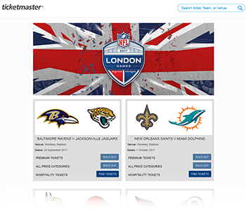 Ticketmaster - The NFL